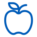 education apple industry icon