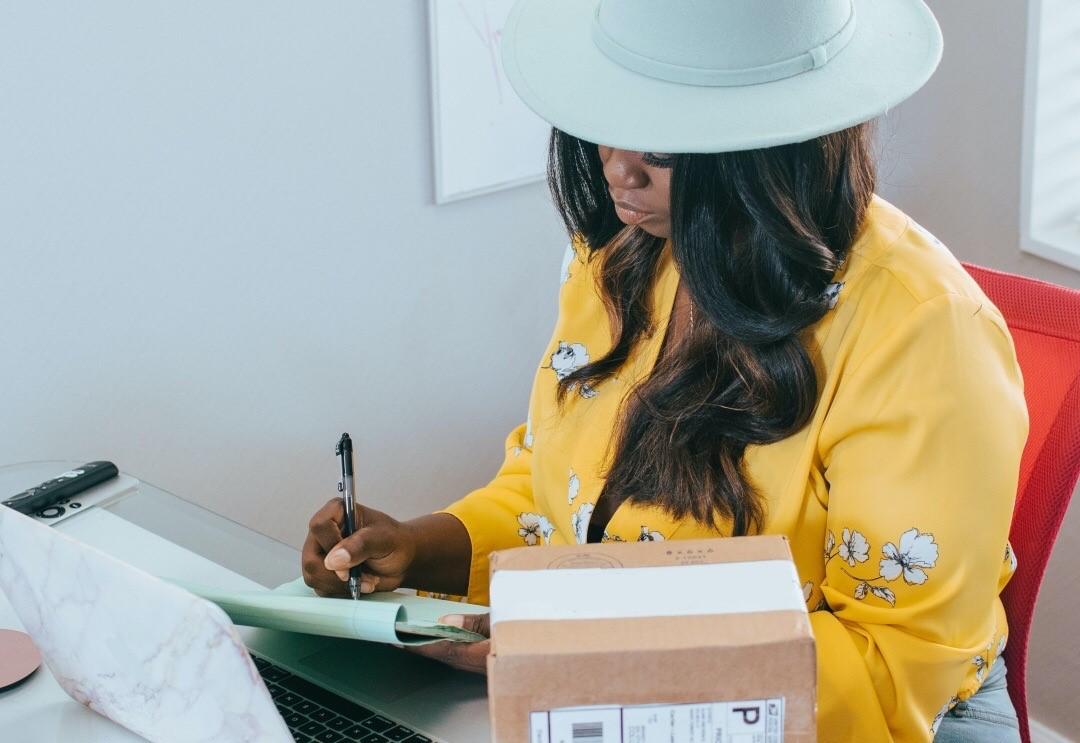 fashion influencer working during pandemic