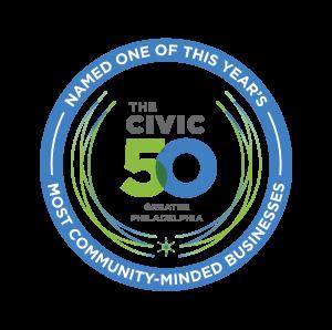 The Civic 50 Greater Philadelphia Badge
