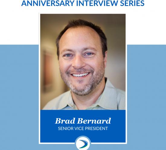 Brad Bernard Celebrates 15 Years with Harmelin Media